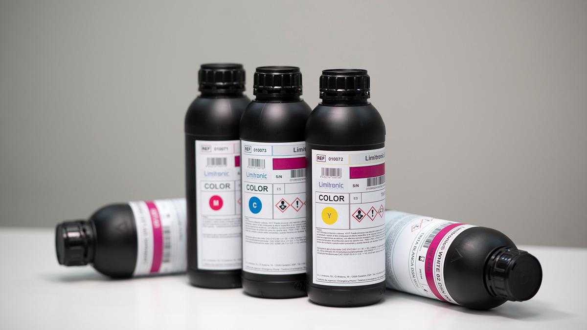 Tintas MOF Limitronic libres de aceites