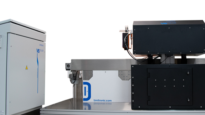 Estación de impresión V6 color. Alta resolución de impresión en línea