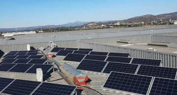 Paneles solares en Limitronic